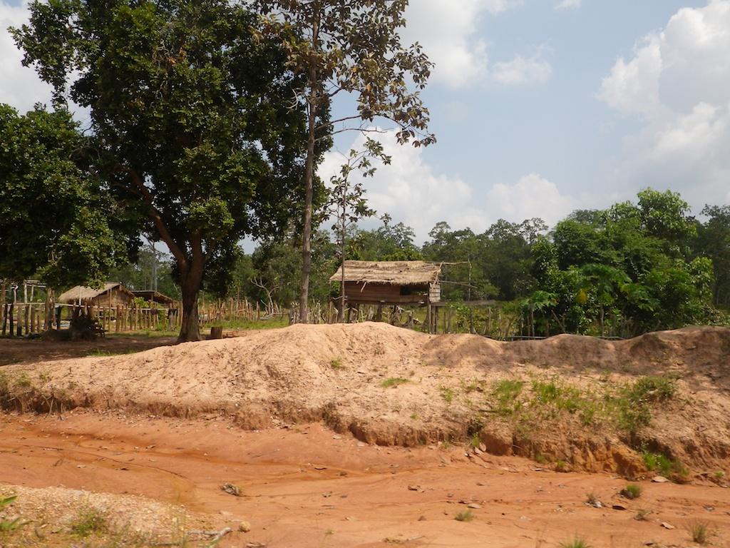 伝統家屋が建ち並ぶ